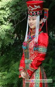 mongolian dresses