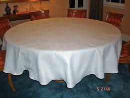 108 round tablecloths