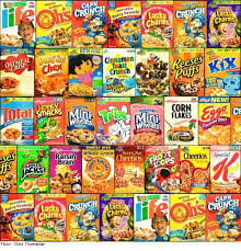 different cereals