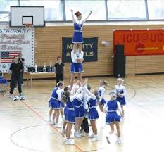 cheerleading stunting