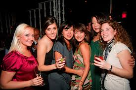 girls with friends
