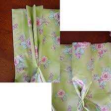 pleated drape