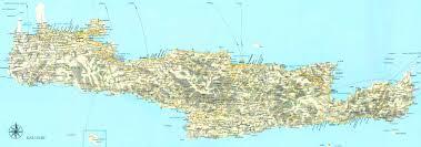 kreeta kartta