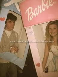 barbie box costume