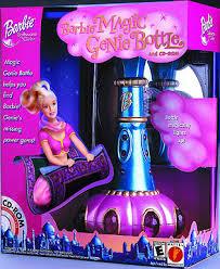 barbie magic genie bottle