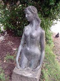 girl sculptures