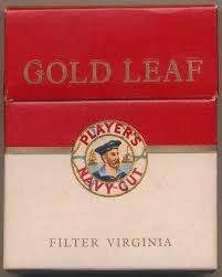 gold leaf cigarette