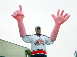 big foam hands