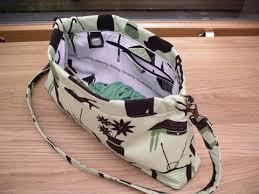 open handbag