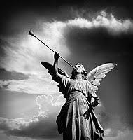 angels trumpeting