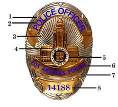 police badge number