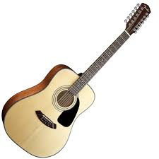 12 strings acoustic guitar