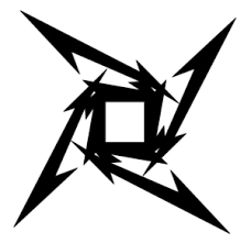 ninja star metallica