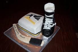 hockey birthday cakes