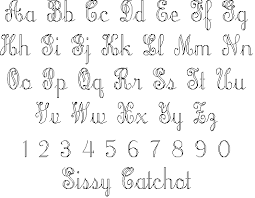 old style letters