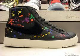 paint splatter shoes
