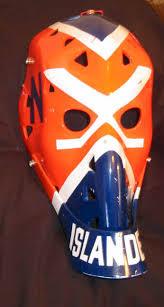 old goalie masks