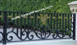 fence railings