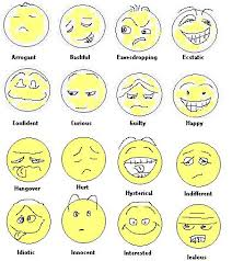 faces showing emotion