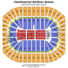 izod arena seating chart