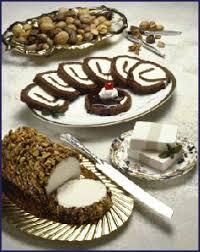 ice cream log cake