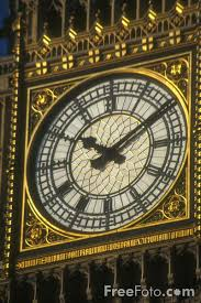 big clock face
