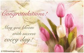 success greeting