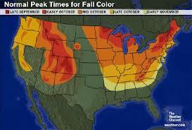 fall colors map