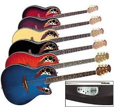 ovation acoustic electric guitars