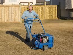 bluebird lawn aerator