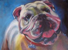 bulldog artwork
