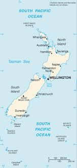 new zealand tourist map