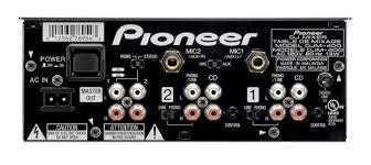 mixer outputs
