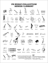 musical instrument symbols