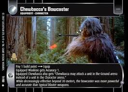 chewbacca bowcaster