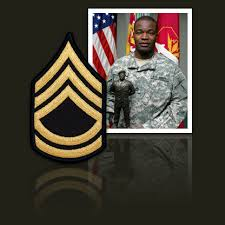 army sergeant first class
