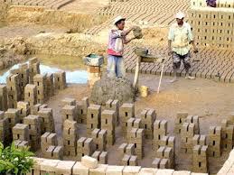 bricks making