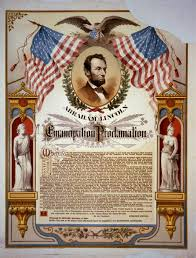 abe lincoln emancipation proclamation