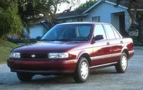 1992 nissan sentra xe