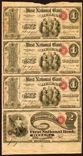old american paper money