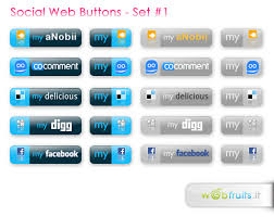 buttons for web design