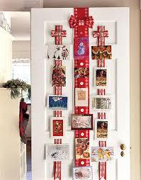 holiday door decorating