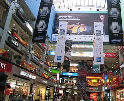 shopping centers in paris