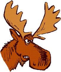 cartoon moose images