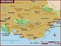 provence maps
