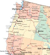map northwest united states
