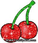 cherry glitter