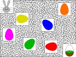 easter maze