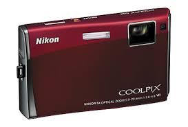 nixon touch screen camera