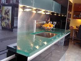 glass kitchen tops
